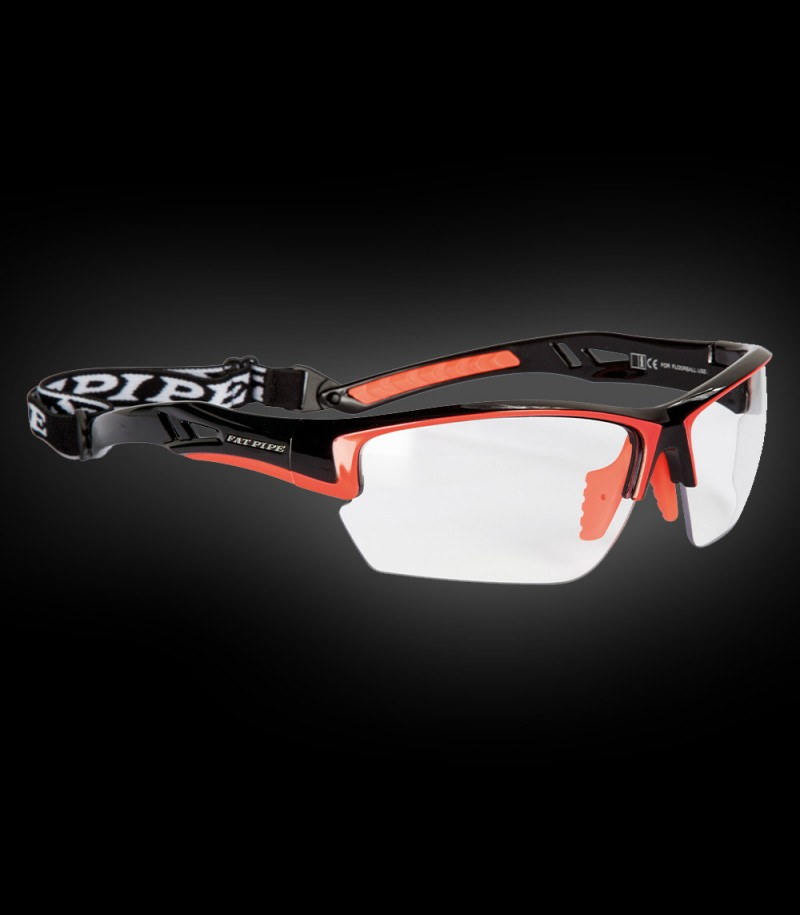 Fatpipe Sportbrille Protective Junior schwarz-orange