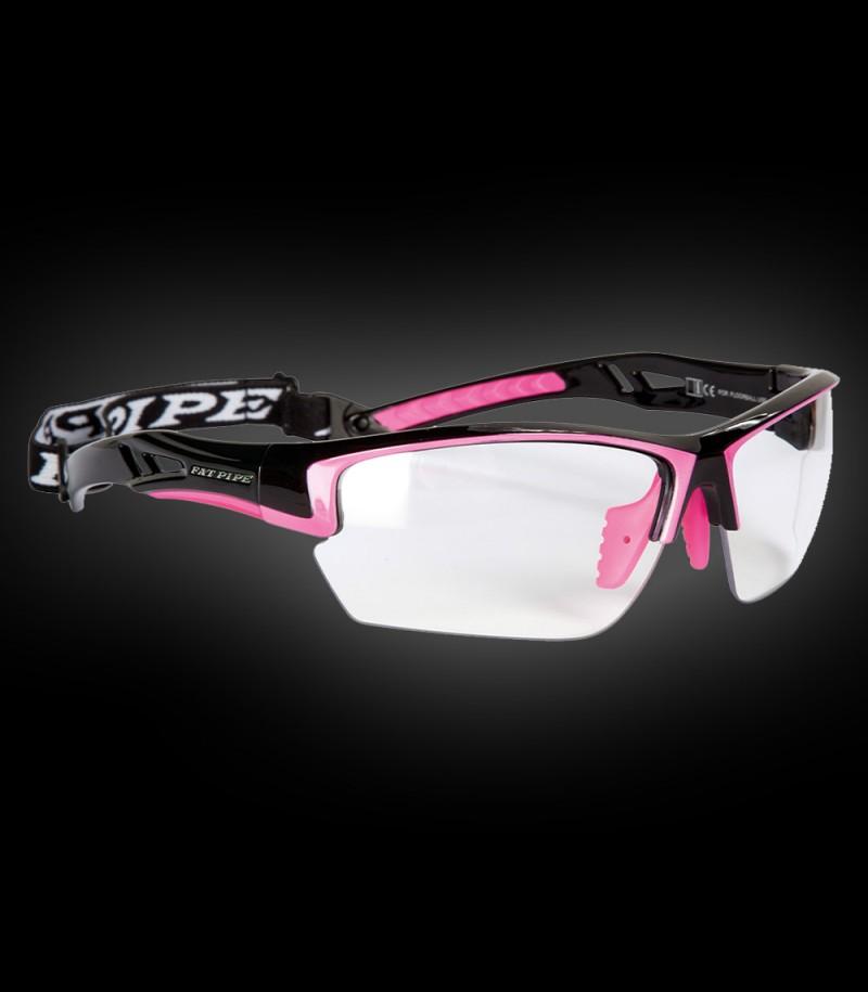 Fatpipe Sportbrille Protective Junior schwarz-pink