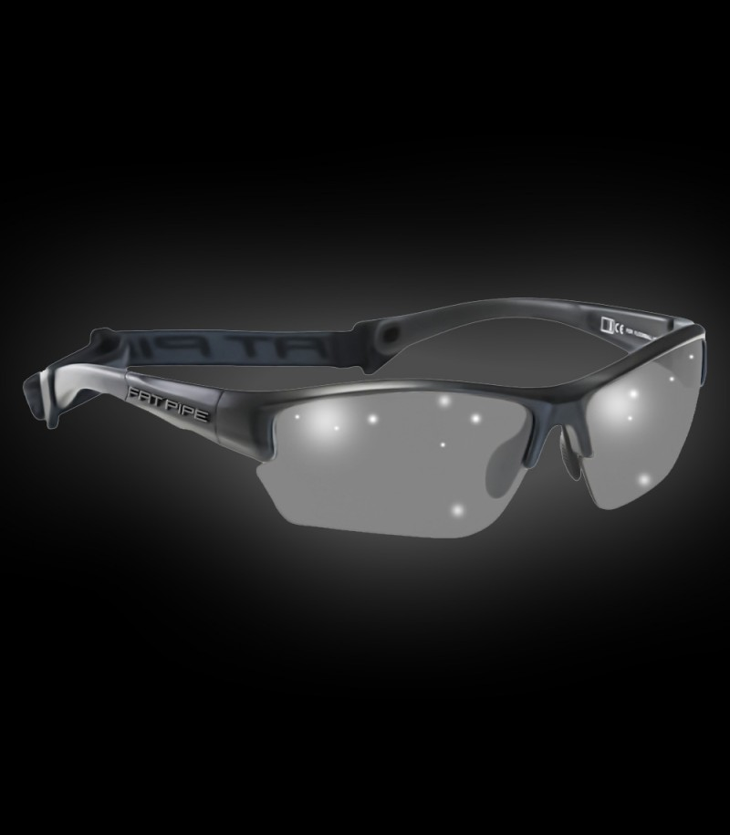 Fatpipe Sportbrille Eagle Eye Junior black matt