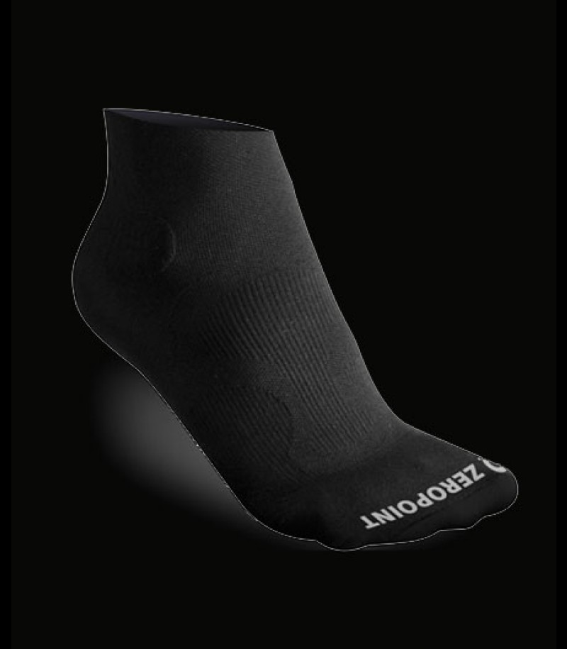 Zero Point Ankle Socks OX schwarz