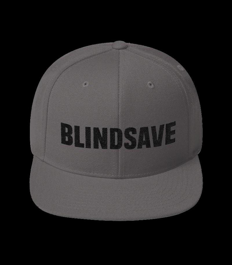 Blindsave Snapback Cap grey