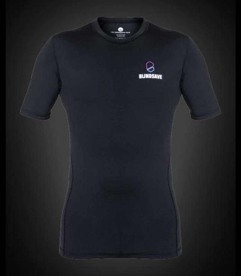 Blindsave Shortsleeve Compression Shirt black