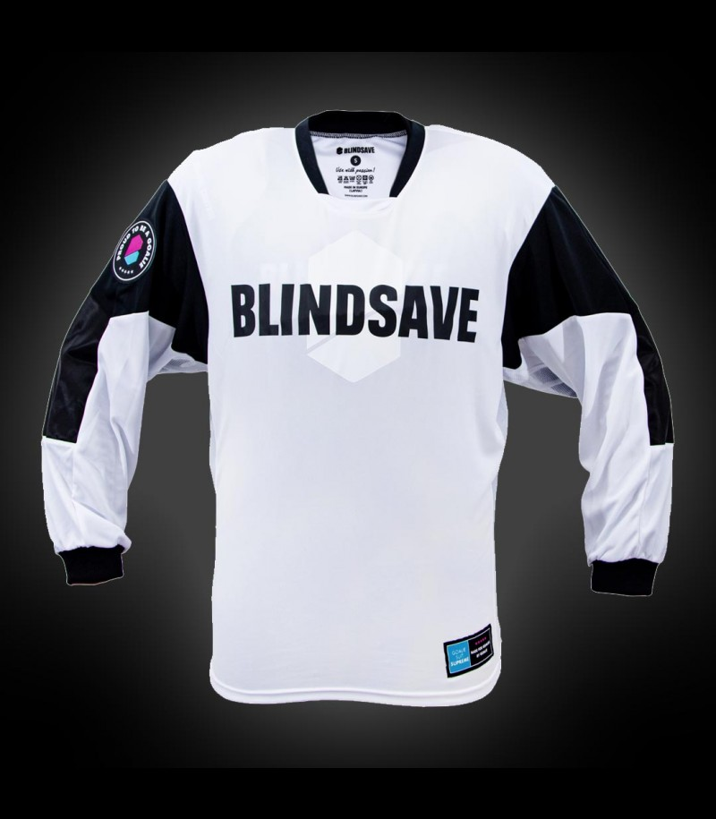 Blindsave Goalie Jersey SUPREME white