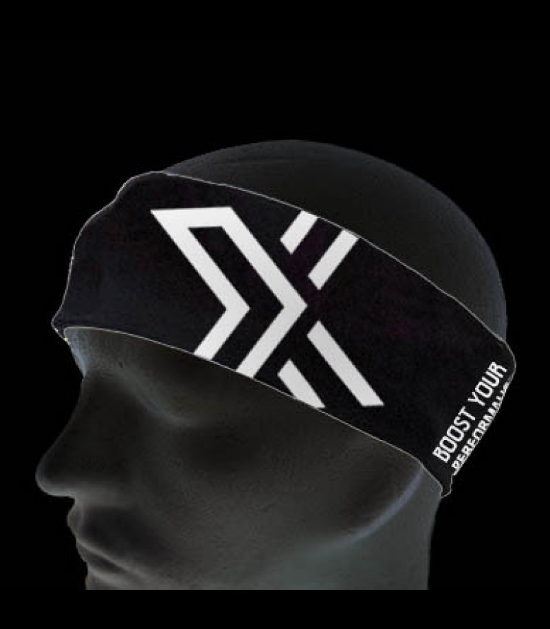 OXDOG Headband Bright black/white