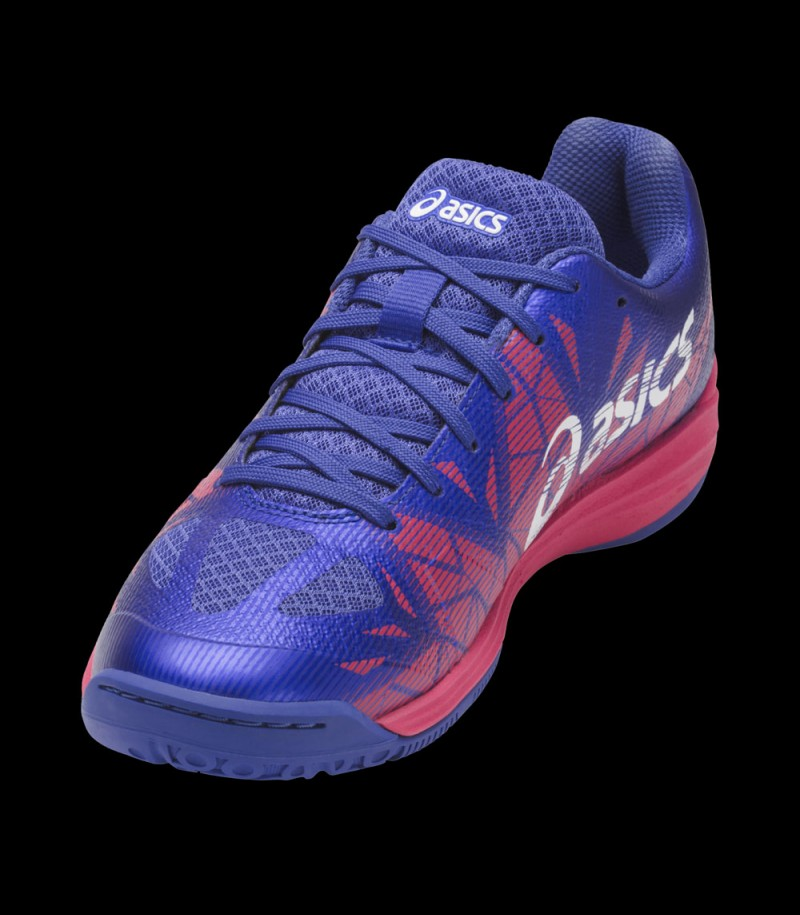 asics GEL FASTBALL Lady blue purple/pink