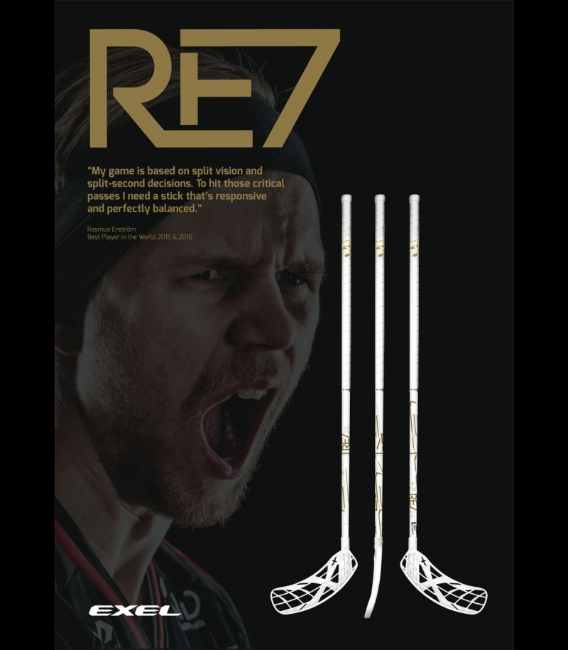 Exel RE7 Rasmus Enström White Edition 2.6