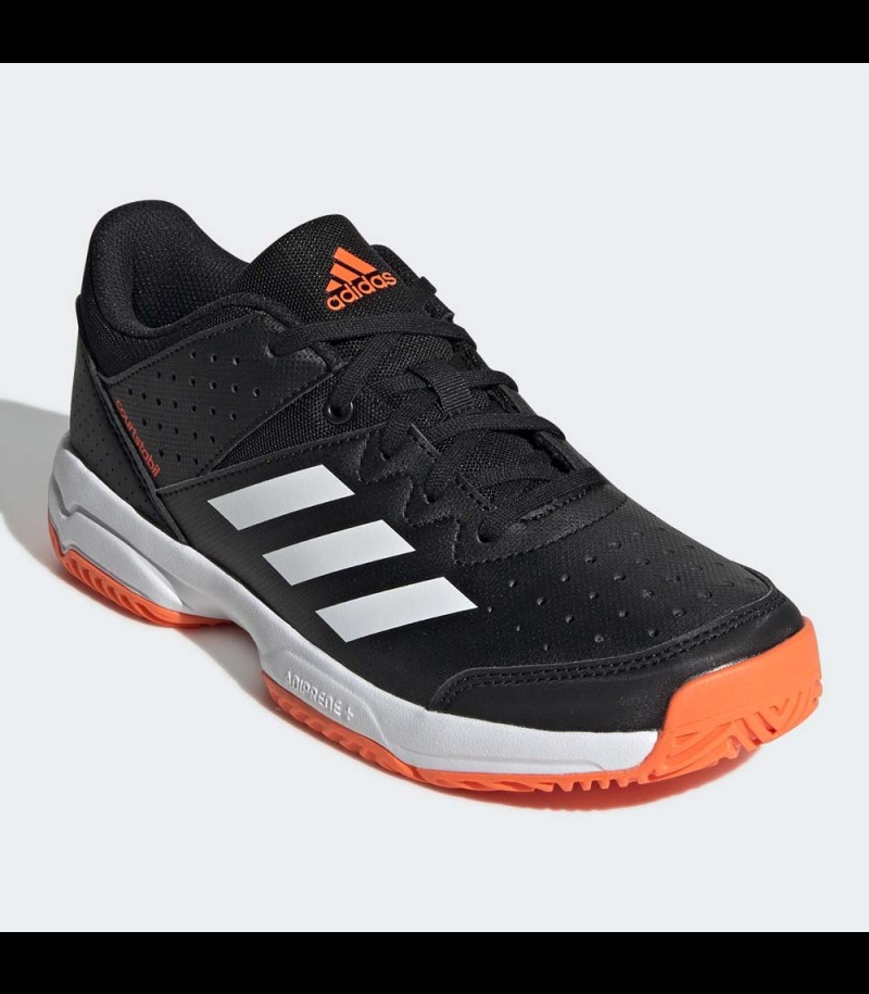 Adidas Court Stabil Junior core black/orange