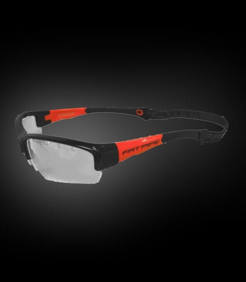 Fatpipe Sportbrille Protective Kids schwarz-orange