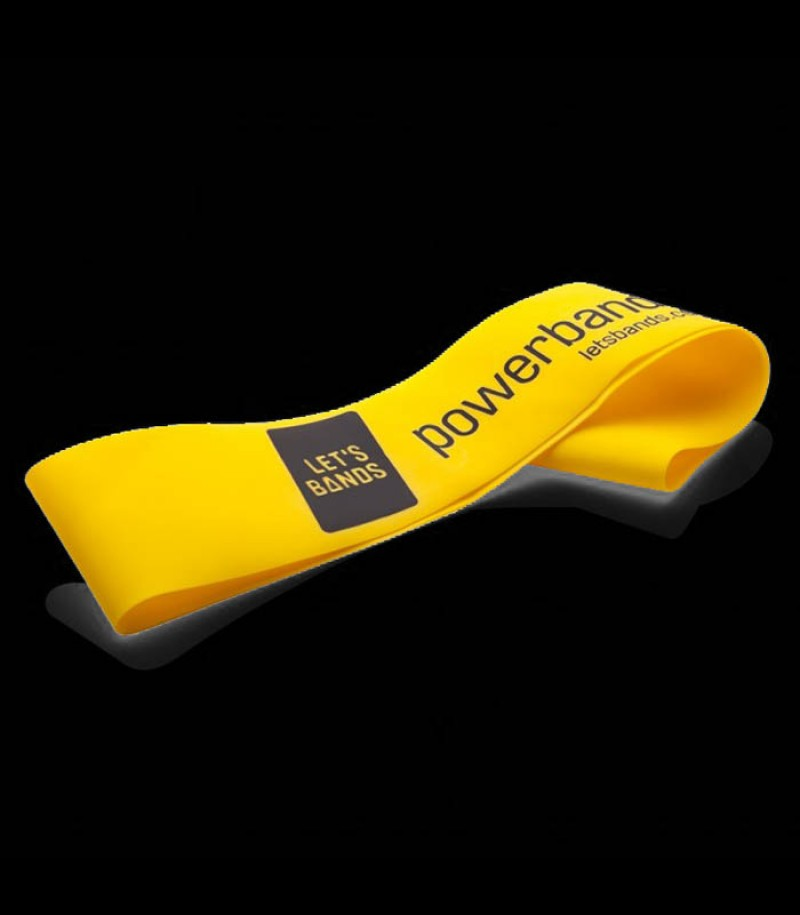 Powerband Mini yellow (easy)
