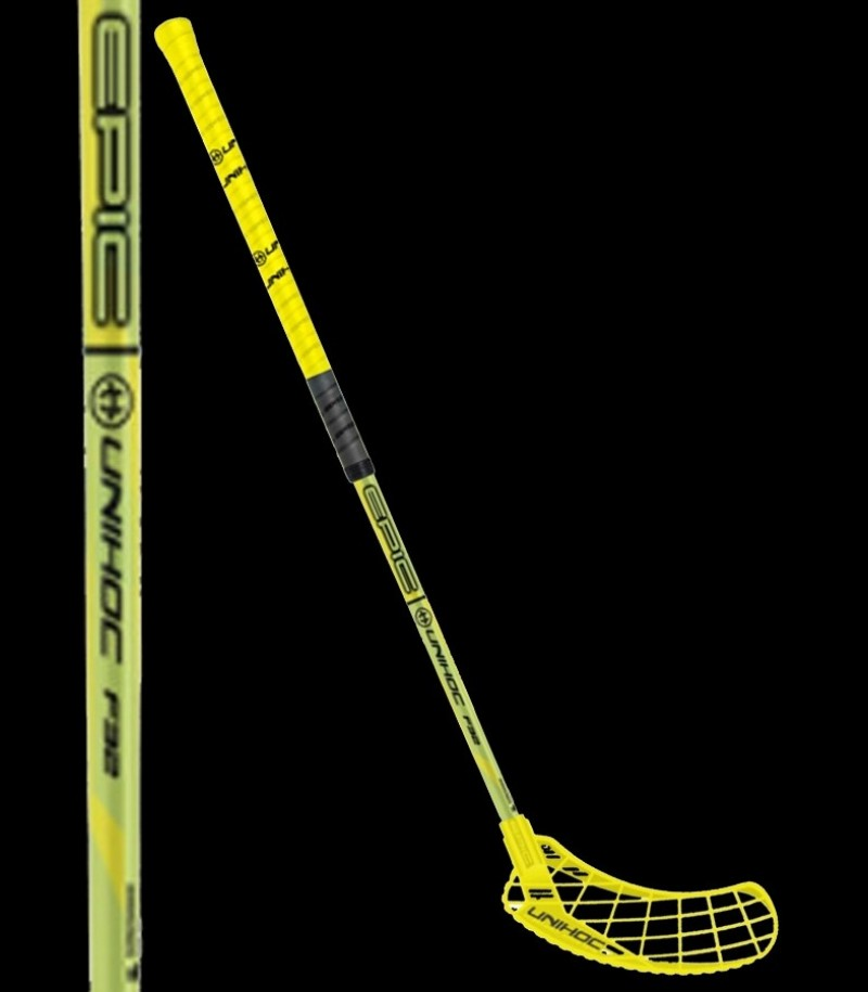unihoc EPIC 32 neon yellow/black