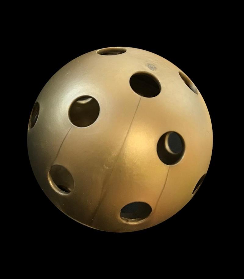 unihockeyshop.ch Trainingsball gold