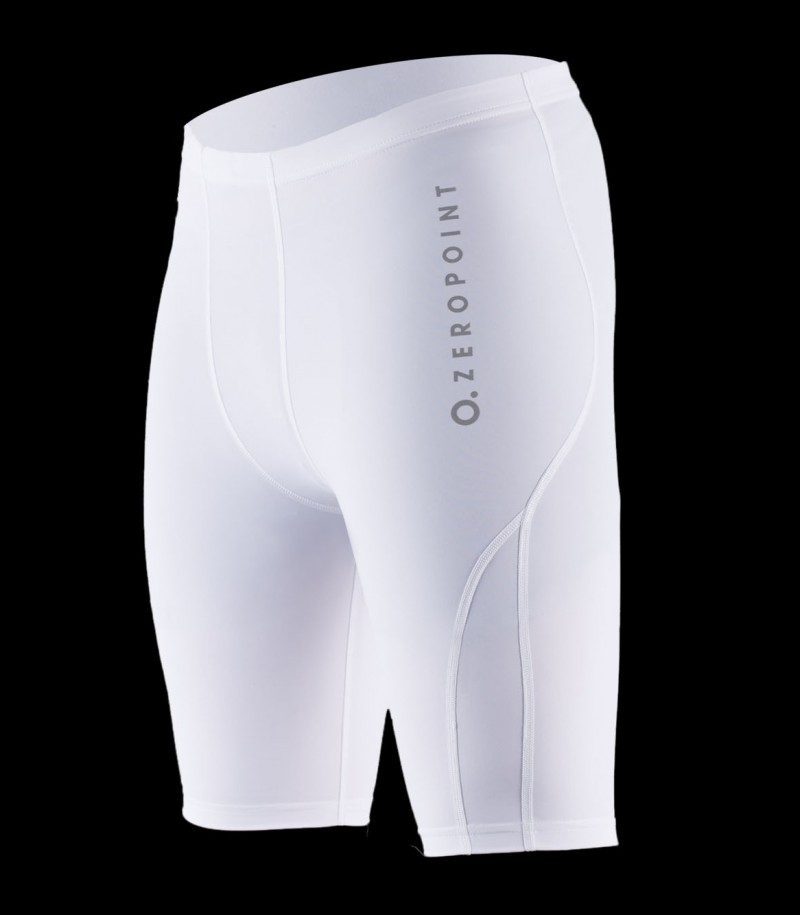 Zero Point Compression Team Shorts Men white