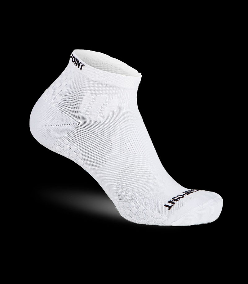 Zero Point Ankle Socks OX weiss