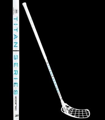 Teststock unihoc ICONIC TITAN Straight Edge 29 white