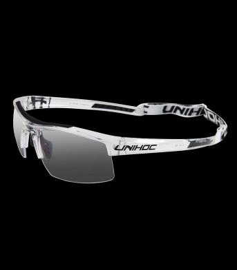 unihoc Sportbrille Energy Junior crystal/schwarz
