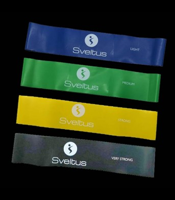 Sveltus Trainingbands (4-Pack)
