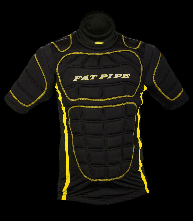 Fatpipe Goalieweste Protective black/yellow