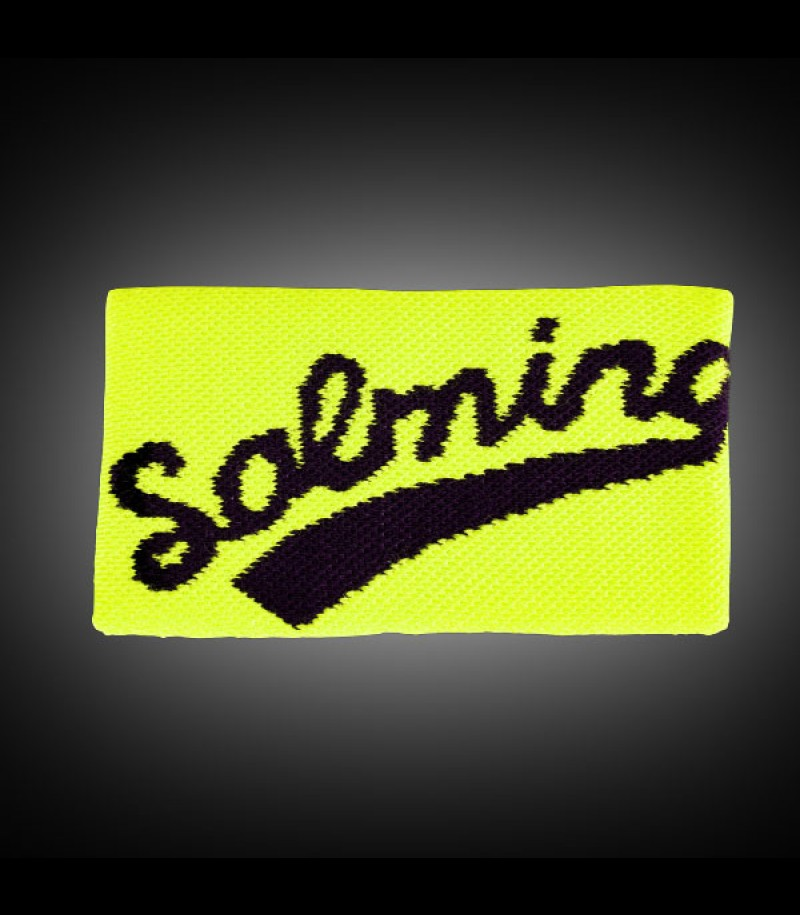 Salming Wristband Long yellow/black