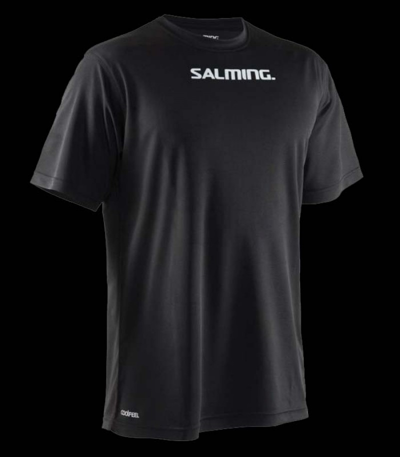 Salming Run Focus Tee Senior black