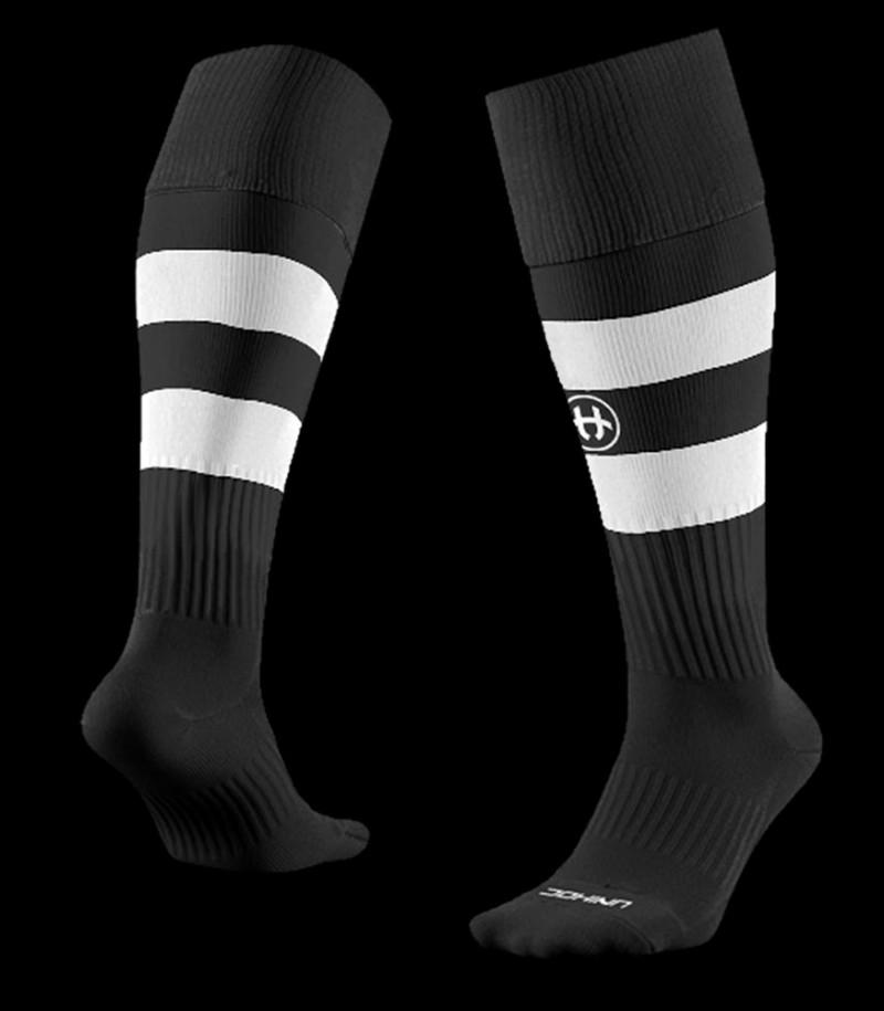 unihoc Socken Control schwarz