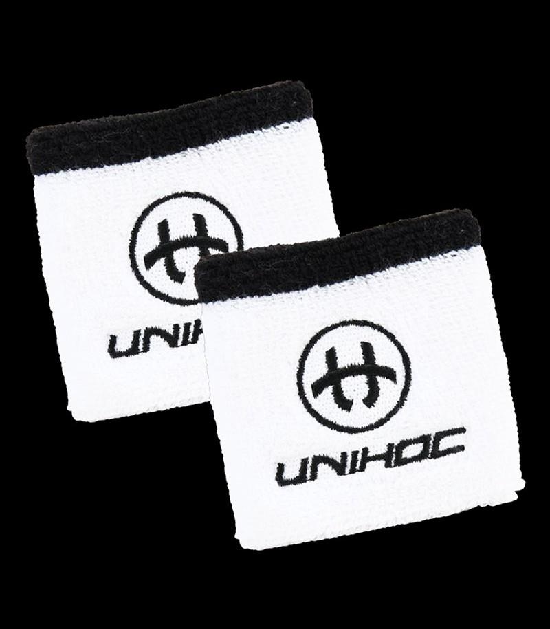unihoc Schweissband Sweat weiss (2-Pack)