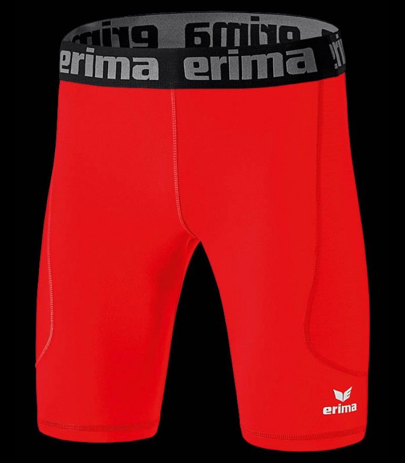 Erima Elemental Tight Short red