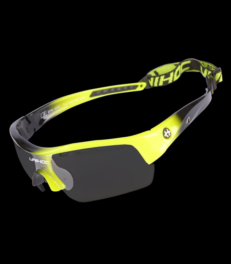 unihoc Sportbrille Victory Junior gelb/schwarz
