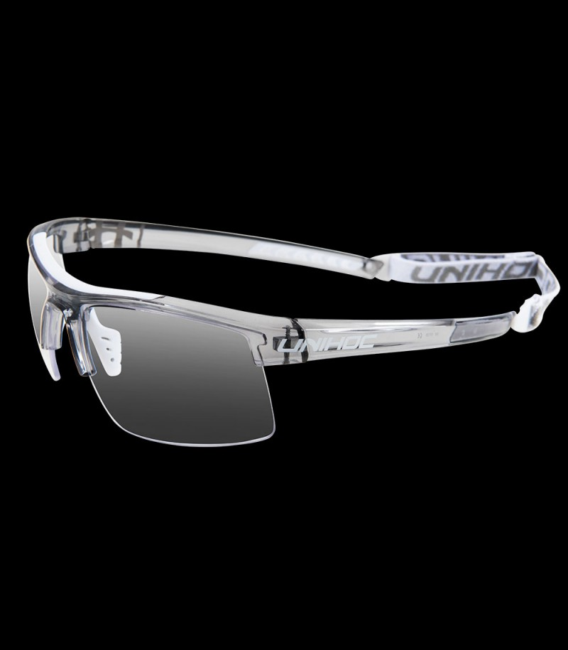unihoc Sportbrille Energy senior crystal grau