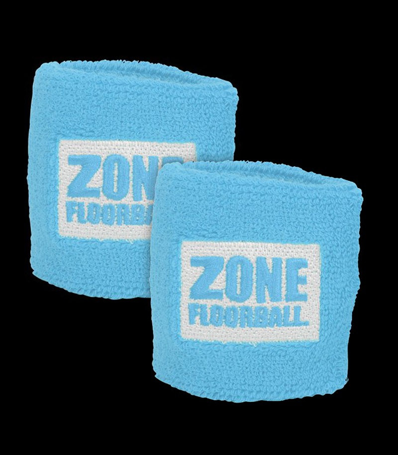 Zone Schweissband Retro hellblau (2-Pack)