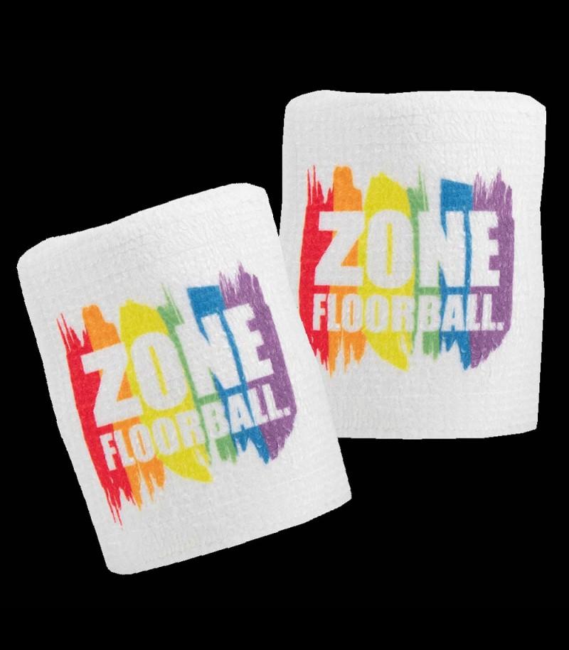 Zone Schweissband Pride weiss (2-Pack)