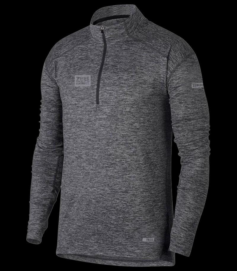 Zone Longsleeve Shirt Hitech dark grey