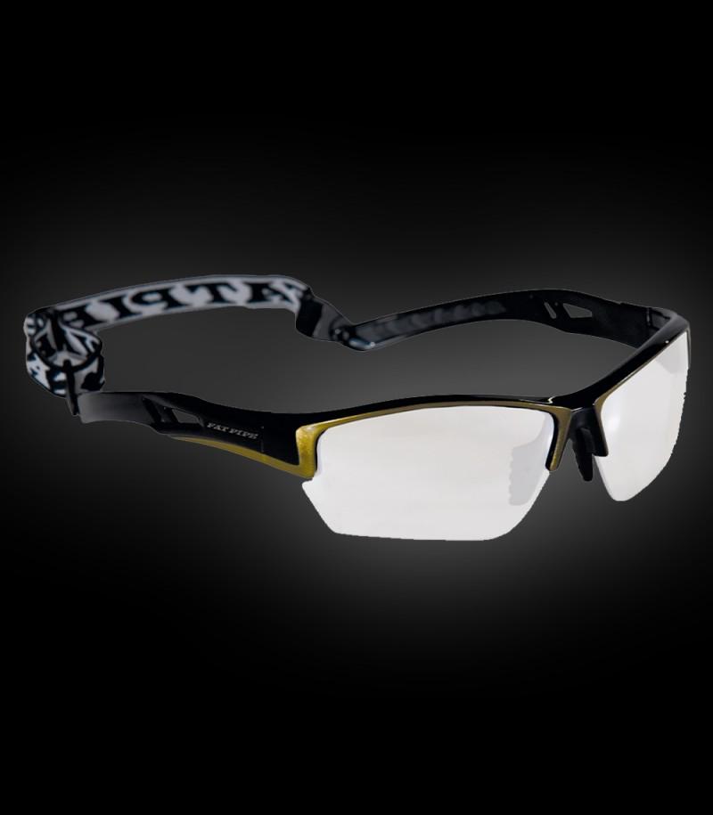 Fatpipe Sportbrille Protective Junior schwarz-gold