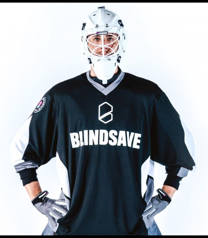 Blindsave Goalie Jersey Confidence black