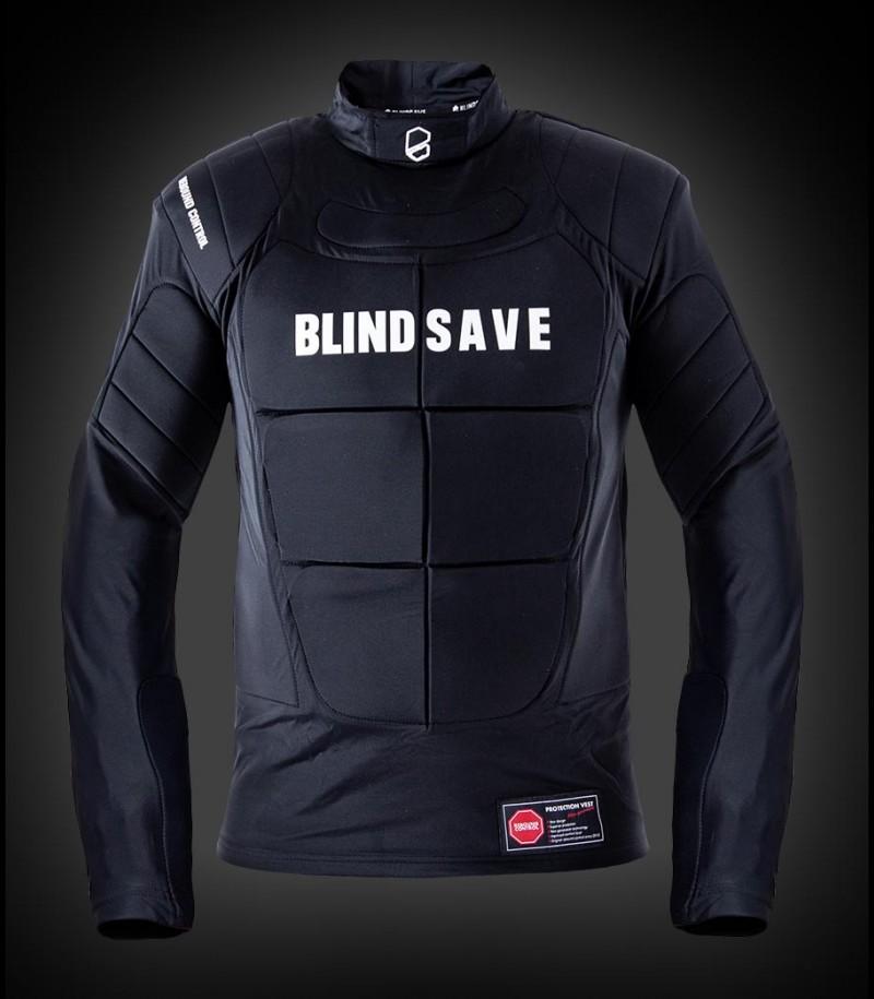 Blindsave Goalie Weste Langarm mit Rebound Control