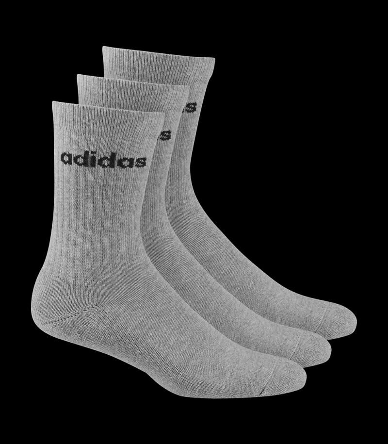 Adidas Half-Cushioned Crew Socks grey (3-Pack)