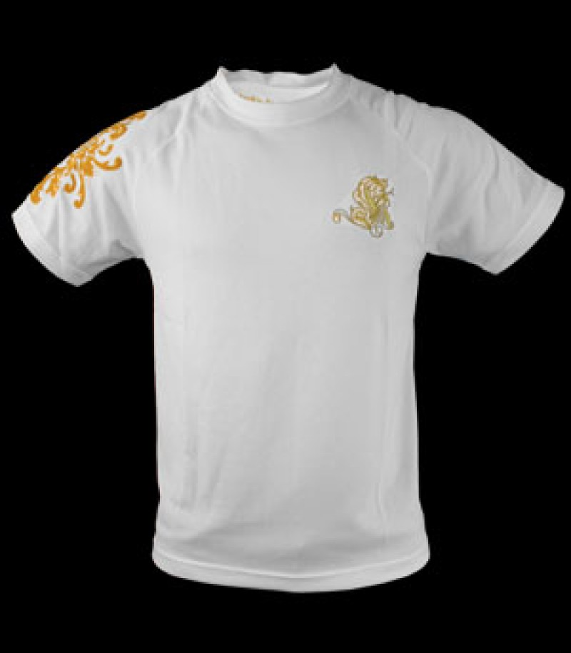 Louis XIV T-Shirt Training blanc d'or