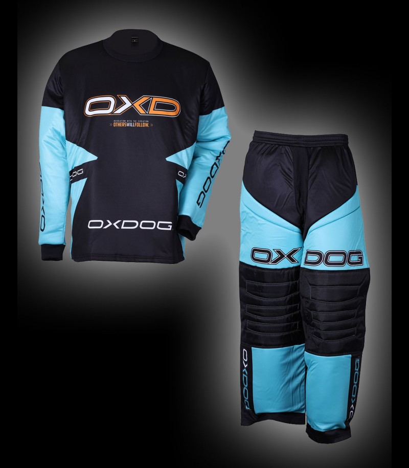 OXDOG Goalieset Vapor Junior tif blue